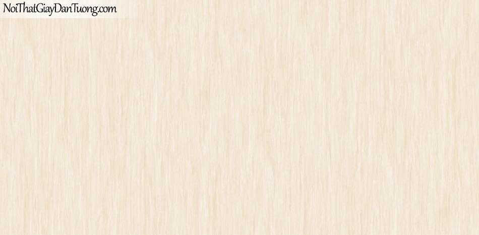 BOS 2018, Giấy dán tường Hàn Quốc 81118-4, giấy dán tường sọc kẻ đứng nhỏ, màu vàng kem hồng