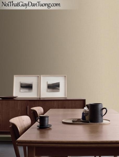 BOS 2018, Giấy dán tường Hàn Quốc 97421-4 PC, giấy dán tường trơn, màu vàng cát, phối cảnh