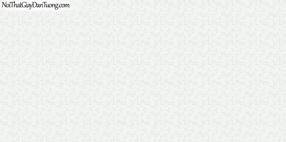ELYSIA 2018, Giấy dán tường Hàn Quốc 70009-1, giấy dán tường chấm bi nhỏ li ti, nền trắng sữa
