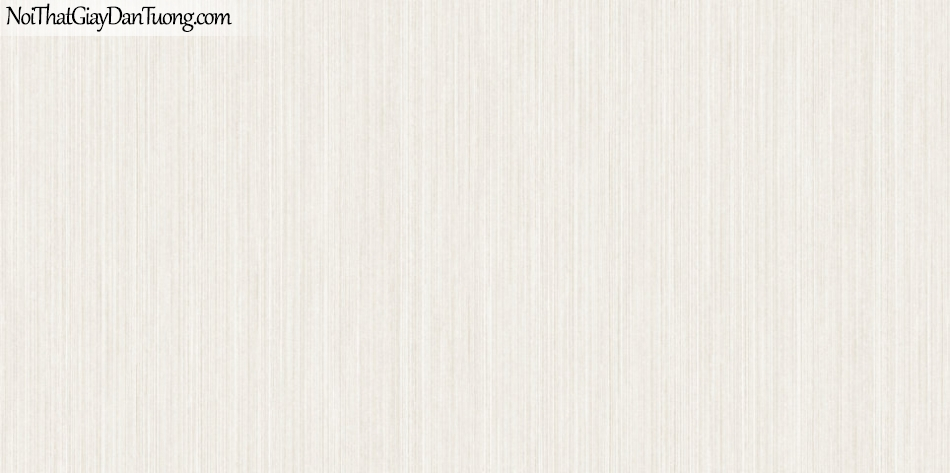 ELYSIA 2018, Giấy dán tường Hàn Quốc 70016-1, giấy dán tường giả gạch, sọc đứng, gân nhỏ, màu trắng kem