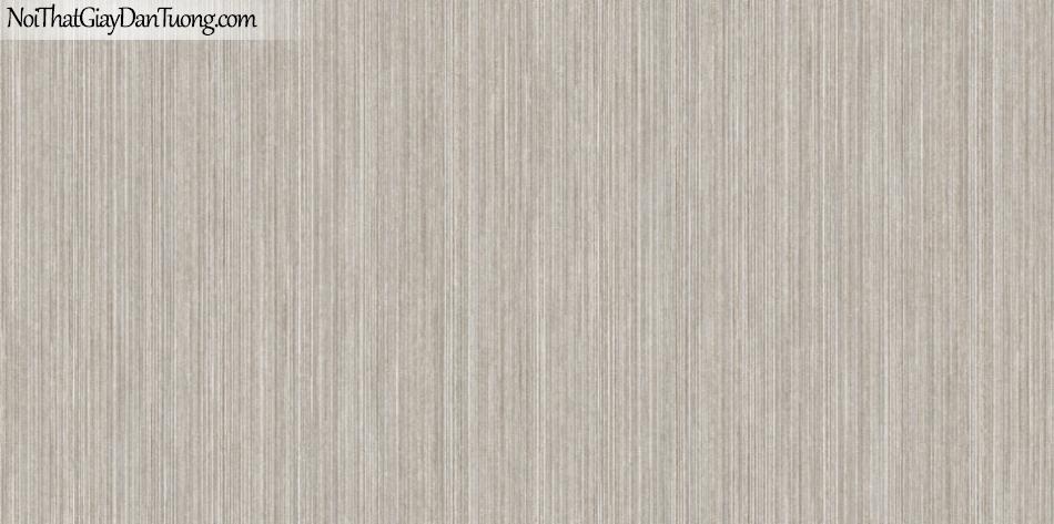 ELYSIA 2018, Giấy dán tường Hàn Quốc 70016-4, giấy dán tường sọc đứng, gân nhỏ li ti, màu nâu xám, bán giấy dán tường ở quận 7
