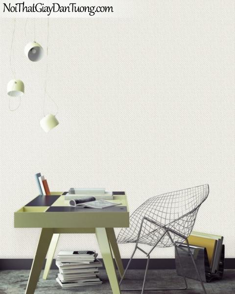 ELYSIA 2018, Giấy dán tường Hàn Quốc 70018-1 PC, giấy dán tường chấm bi, gân nhỏ, màu trắng sữa, phối cảnh