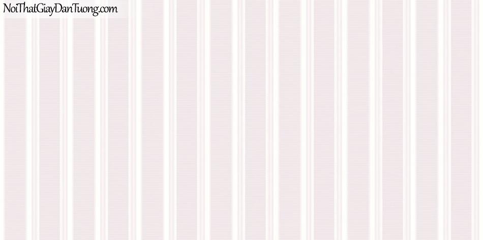 ELYSIA 2018, Giấy dán tường Hàn Quốc 70020-1, giấy dán tường sọc đứng, gân nhỏ, màu cam hồng