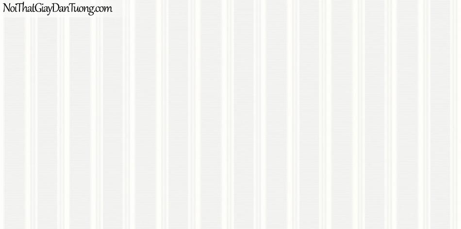 ELYSIA 2018, Giấy dán tường Hàn Quốc 70020-2, giấy dán tường sọc đứng, gân nhỏ, màu trắng sữa
