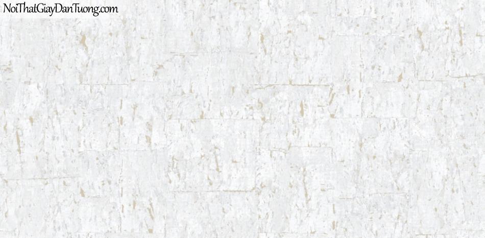 Giấy dán tường Natural Hàn Quốc 87027-1, giả gạch, giả đá, giả gỗ 3D, giấy dán tường giả gạch, màu trắng xám