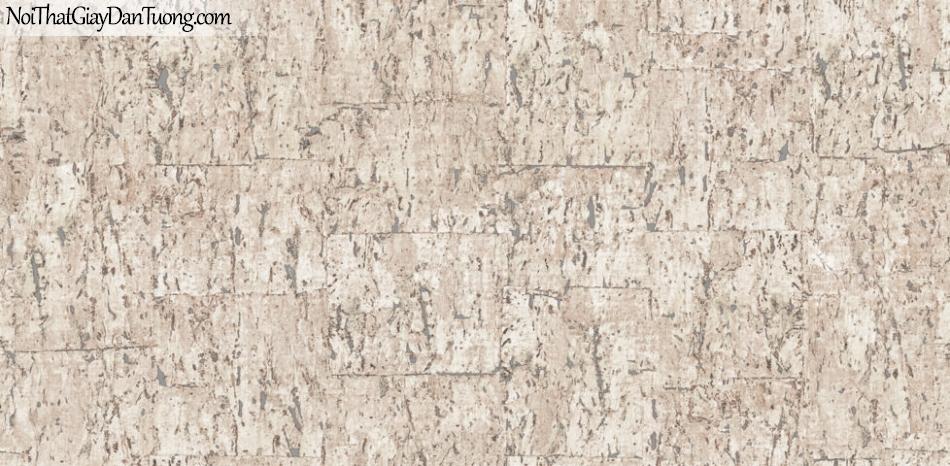 Giấy dán tường Natural Hàn Quốc 87027-2, giả gạch, giả đá, giả gỗ 3D, giấy dán tường giả gạch, màu vàng cát