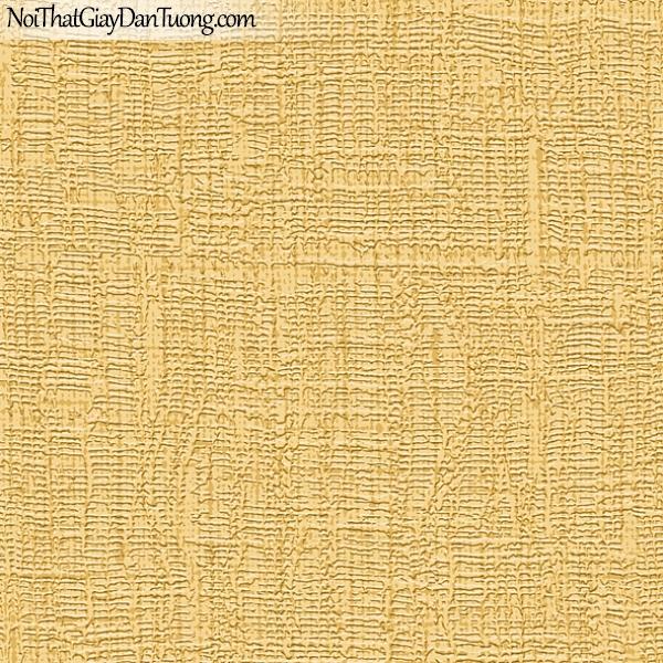 Giấy dán tường FIESTA Hàn Quốc FE1603-4, giả tranh, giả gỗ, hoa lá, cây xanh, tranh 3D, giấy dán tường gân nhỏ, sọc li ti, màu vàng cam