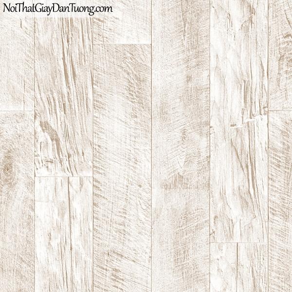 Giấy dán tường FIESTA Hàn Quốc FE1607-1, giả đá, giả gạch, giả gỗ, tranh 3D, giả kệ sách, giấy dán tường giả gỗ, màu trắng xám