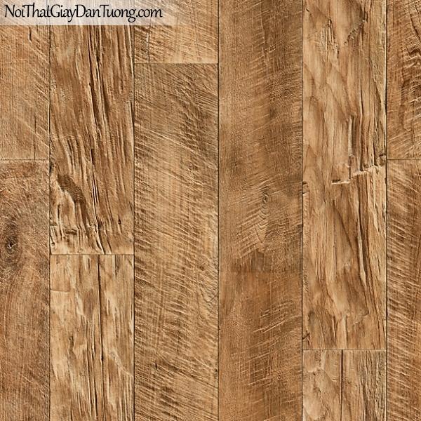 Giấy dán tường FIESTA Hàn Quốc FE1607-3 (2), giả đá, giả gạch, giả gỗ, tranh 3D, giả kệ sách, giấy dán tường giả gỗ, màu vàng xám
