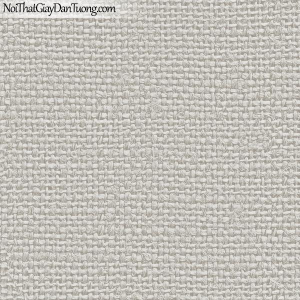 Giấy dán tường FIESTA Hàn Quốc FE1615-2 (2), giả tranh 3D, giấy dán tường giả tranh vẽ 3D, giả vải, thêu, dệt màu xám trắng