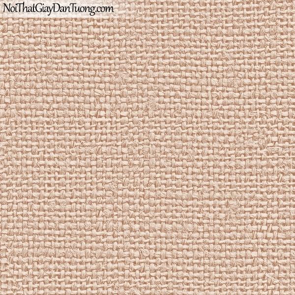 Giấy dán tường FIESTA Hàn Quốc FE1615-3, giả tranh 3D, giấy dán tường giả tranh vẽ 3D, giả vải, thêu, dệt màu vàng đất