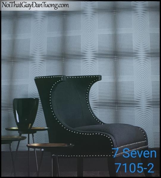 7 SEVEN, 7SEVEN, Giấy dán tường Hàn Quốc 7105-2(2) PC, giấy dán tường 3D gân nhỏ, giả đá, giả gỗ, giả gạch, phù hợp với nhà hàng, cafe, spa, phối cảnh