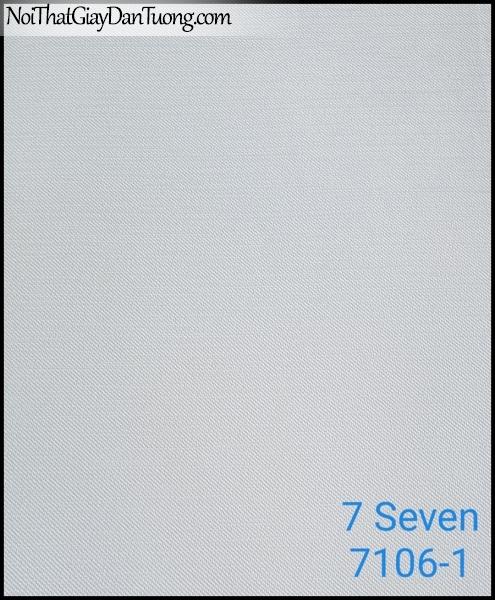 7 SEVEN, 7SEVEN, Giấy dán tường Hàn Quốc 7106-1, giấy dán tường 3D gân nhỏ, giả đá, giả gỗ, giả gạch, màu nâu xám