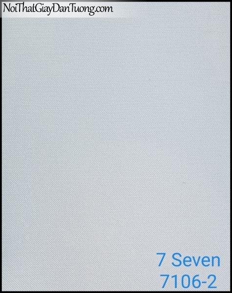 7 SEVEN, 7SEVEN, Giấy dán tường Hàn Quốc 7106-2, giấy dán tường 3D gân nhỏ, giả đá, giả gỗ, giả gạch, màu nâu xám