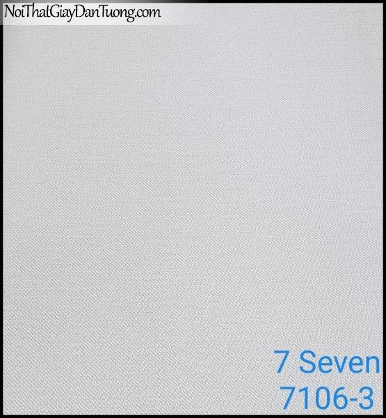 7 SEVEN, 7SEVEN, Giấy dán tường Hàn Quốc 7106-3, giấy dán tường 3D gân nhỏ, giả đá, giả gỗ, giả gạch, màu nâu xám