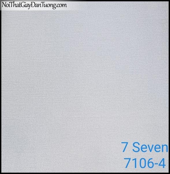 7 SEVEN, 7SEVEN, Giấy dán tường Hàn Quốc 7106-4, giấy dán tường 3D gân nhỏ, giả đá, giả gỗ, giả gạch, màu nâu xám