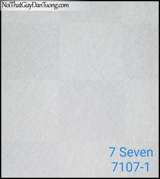 7 SEVEN, 7SEVEN, Giấy dán tường Hàn Quốc 7107-1, giấy dán tường 3D gân nhỏ, giả đá, giả gỗ, giả gạch, màu nâu xám