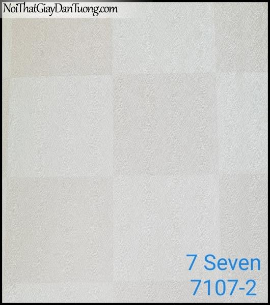 7 SEVEN, 7SEVEN, Giấy dán tường Hàn Quốc 7107-2, giấy dán tường 3D gân nhỏ, giả đá, giả gỗ, giả gạch, màu nâu xám