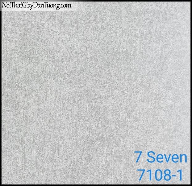 7 SEVEN, 7SEVEN, Giấy dán tường Hàn Quốc 7108-1, giấy dán tường 3D gân nhỏ, giả đá, giả gỗ, giả gạch, màu nâu xám