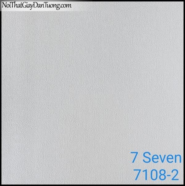 7 SEVEN, 7SEVEN, Giấy dán tường Hàn Quốc 7108-2, giấy dán tường 3D gân nhỏ, giả đá, giả gỗ, giả gạch, màu nâu xám