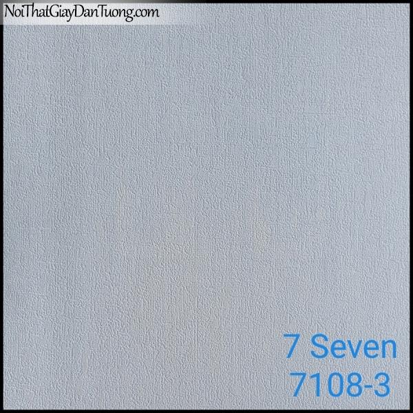 7 SEVEN, 7SEVEN, Giấy dán tường Hàn Quốc 7108-3, giấy dán tường 3D gân nhỏ, giả đá, giả gỗ, giả gạch, màu nâu xám