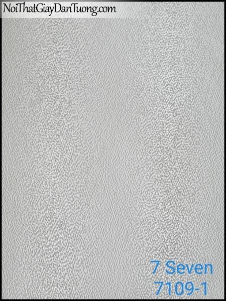7 SEVEN, 7SEVEN, Giấy dán tường Hàn Quốc 7109-1, giấy dán tường 3D gân nhỏ, giả đá, giả gỗ, giả gạch, màu nâu xám