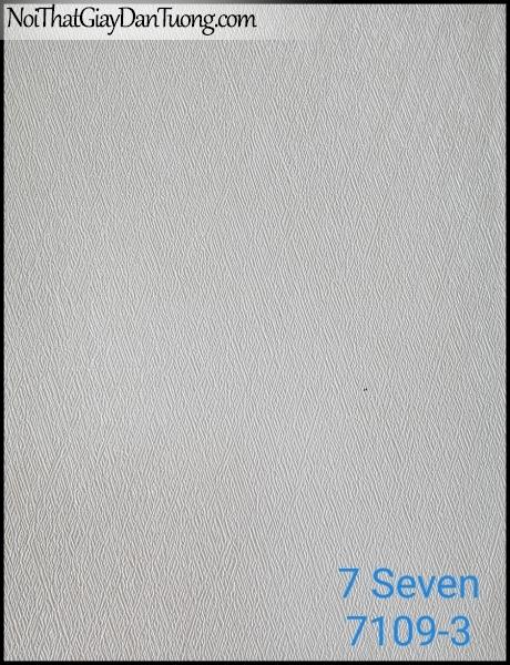 7 SEVEN, 7SEVEN, Giấy dán tường Hàn Quốc 7109-3, giấy dán tường 3D gân nhỏ, giả đá, giả gỗ, giả gạch, màu nâu xám