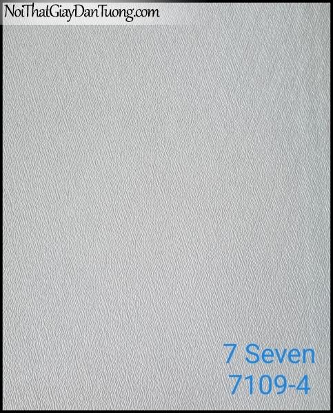 7 SEVEN, 7SEVEN, Giấy dán tường Hàn Quốc 7109-4, giấy dán tường 3D gân nhỏ, giả đá, giả gỗ, giả gạch, màu nâu xám