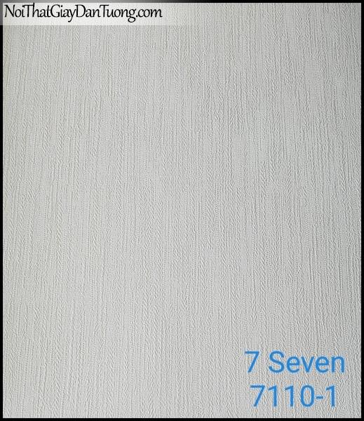7 SEVEN, 7SEVEN, Giấy dán tường Hàn Quốc 7110-1, giấy dán tường 3D gân nhỏ, giả đá, giả gỗ, giả gạch, màu nâu xám