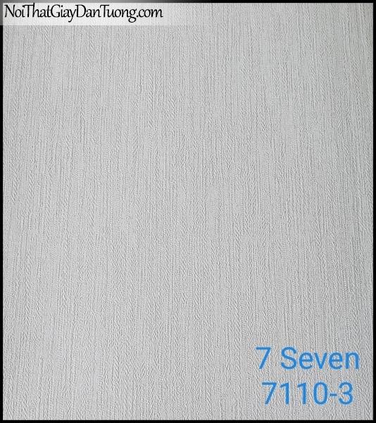 7 SEVEN, 7SEVEN, Giấy dán tường Hàn Quốc 7110-3 (2), giấy dán tường 3D gân nhỏ, giả đá, giả gỗ, giả gạch, màu nâu xám