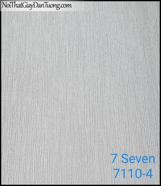 7 SEVEN, 7SEVEN, Giấy dán tường Hàn Quốc 7110-4, giấy dán tường 3D gân nhỏ, giả đá, giả gỗ, giả gạch, màu nâu xám