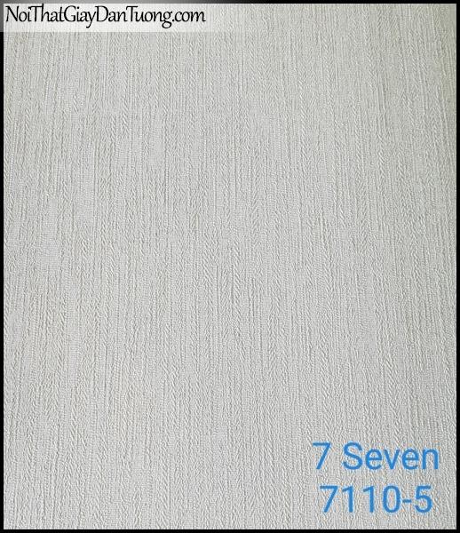 7 SEVEN, 7SEVEN, Giấy dán tường Hàn Quốc 7110-5, giấy dán tường 3D gân nhỏ, giả đá, giả gỗ, giả gạch, màu nâu xám