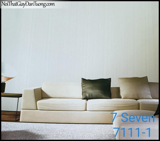 7 SEVEN, 7SEVEN, Giấy dán tường Hàn Quốc 7111-1 PC, giấy dán tường 3D gân nhỏ, giả đá, giả gỗ, giả gạch, màu nâu xám, phối cảnh