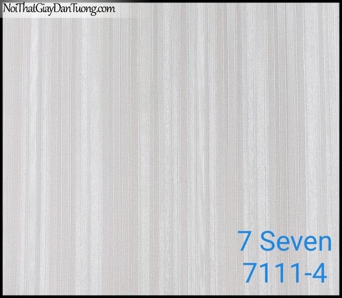 7 SEVEN, 7SEVEN, Giấy dán tường Hàn Quốc 7111-4, giấy dán tường 3D gân nhỏ, giả đá, giả gỗ, giả gạch, màu tím nhạt