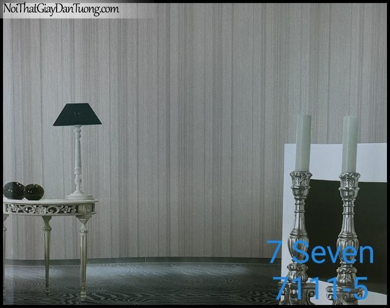 7 SEVEN, 7SEVEN, Giấy dán tường Hàn Quốc 7111-5 (2) PC, giấy dán tường 3D gân nhỏ, giả đá, giả gỗ, giả gạch, màu tím nhạt, phối cảnh