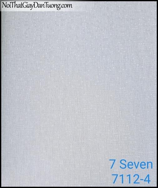 7 SEVEN, 7SEVEN, Giấy dán tường Hàn Quốc 7112-4, giấy dán tường 3D gân nhỏ, giả đá, giả gỗ, giả gạch, màu nâu xám