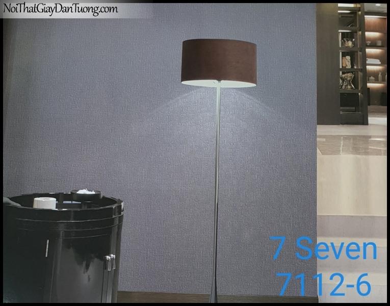 7 SEVEN, 7SEVEN, Giấy dán tường Hàn Quốc 7112-6 (2) PC, giấy dán tường 3D gân nhỏ, giả đá, giả gỗ, giả gạch, màu nâu xám, phối cảnh