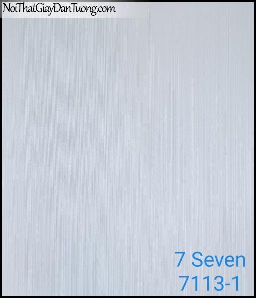7 SEVEN, 7SEVEN, Giấy dán tường Hàn Quốc 7113-1, giấy dán tường 3D gân nhỏ, giả đá, giả gỗ, giả gạch, sọc đứng, màu nâu xám