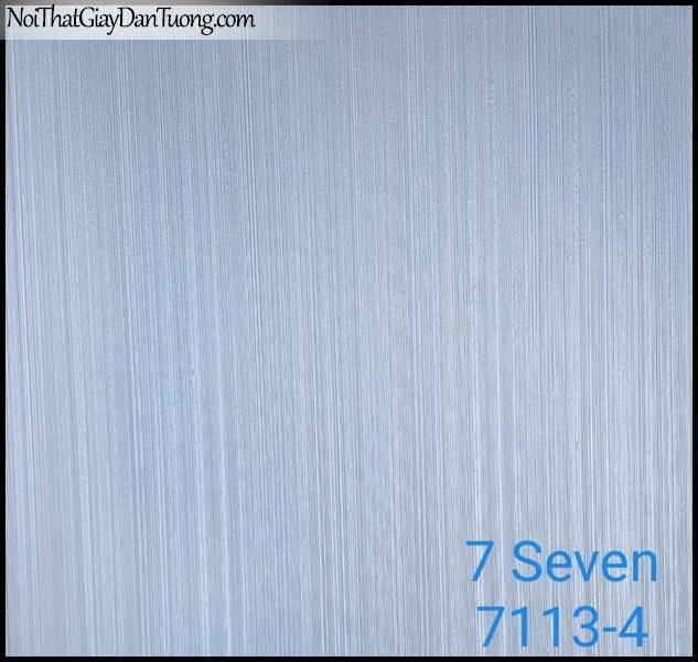 7 SEVEN, 7SEVEN, Giấy dán tường Hàn Quốc 7113-4 (2), giấy dán tường 3D gân nhỏ, giả đá, giả gỗ, giả gạch, sọc đứng, màu nâu xám