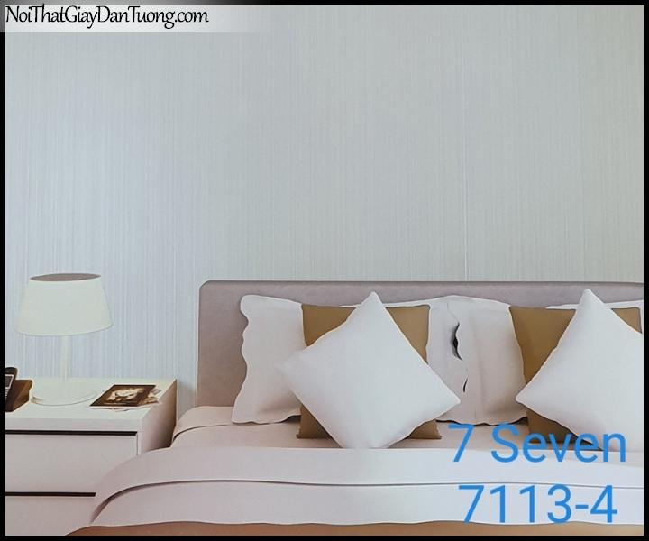 7 SEVEN, 7SEVEN, Giấy dán tường Hàn Quốc 7113-4 PC, giấy dán tường 3D gân nhỏ, giả đá, giả gỗ, giả gạch, sọc đứng, màu nâu xám, phối cảnh