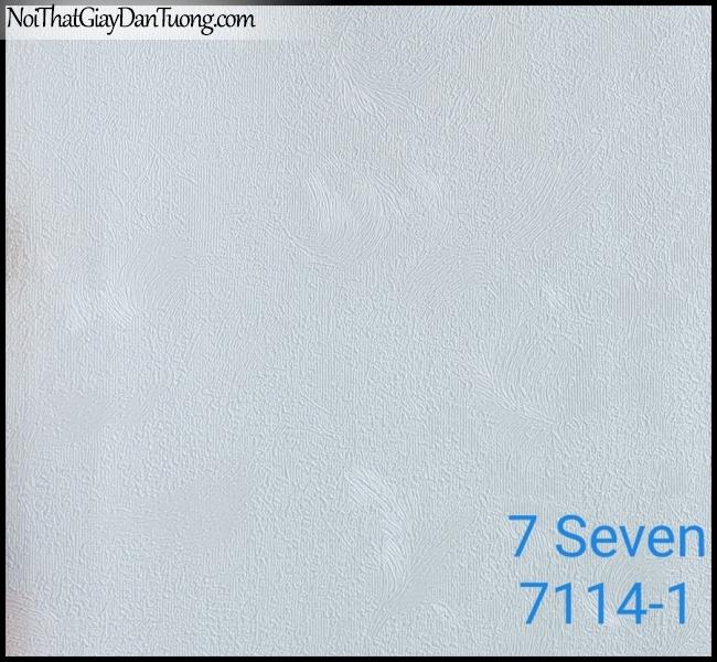 7 SEVEN, 7SEVEN, Giấy dán tường Hàn Quốc 7114-1, giấy dán tường 3D gân nhỏ, giả đá, giả gỗ, giả gạch, màu nâu xám