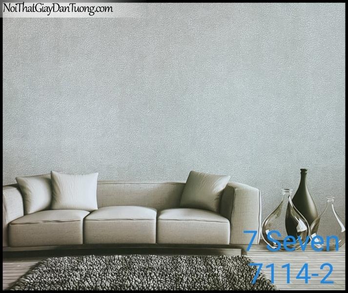 7 SEVEN, 7SEVEN, Giấy dán tường Hàn Quốc 7114-2 PC, giấy dán tường 3D gân nhỏ, giả đá, giả gỗ, giả gạch, sọc đứng, màu nâu xám, phối cảnh