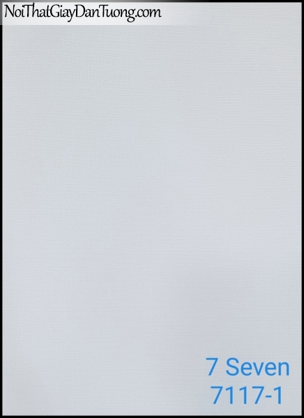 7 SEVEN, 7SEVEN, Giấy dán tường Hàn Quốc 7117-1, giấy dán tường 3D gân nhỏ, giả đá, giả gỗ, giả gạch, màu nâu xám