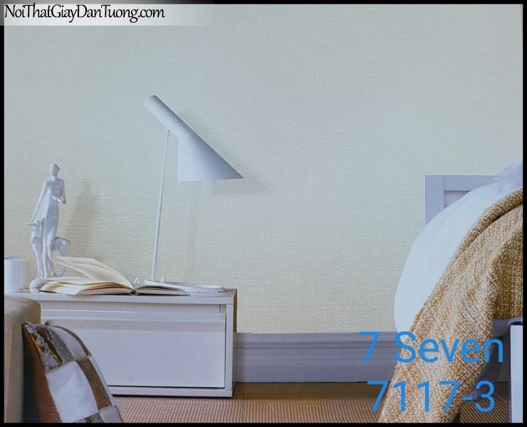 7 SEVEN, 7SEVEN, Giấy dán tường Hàn Quốc 7117-3 (2) PC, giấy dán tường 3D gân nhỏ, giả đá, giả gỗ, giả gạch, màu nâu xám, phối cảnh