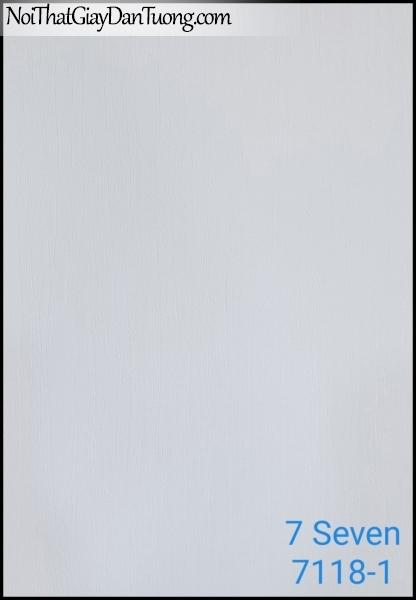 7 SEVEN, 7SEVEN, Giấy dán tường Hàn Quốc 7118-1, giấy dán tường 3D gân nhỏ, giả đá, giả gỗ, giả gạch, màu nâu xám
