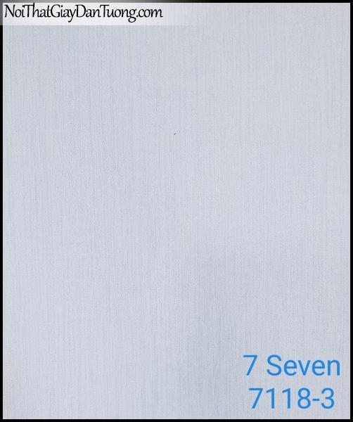 7 SEVEN, 7SEVEN, Giấy dán tường Hàn Quốc 7118-3 (2), giấy dán tường 3D gân nhỏ, giả đá, giả gỗ, giả gạch, màu nâu xám