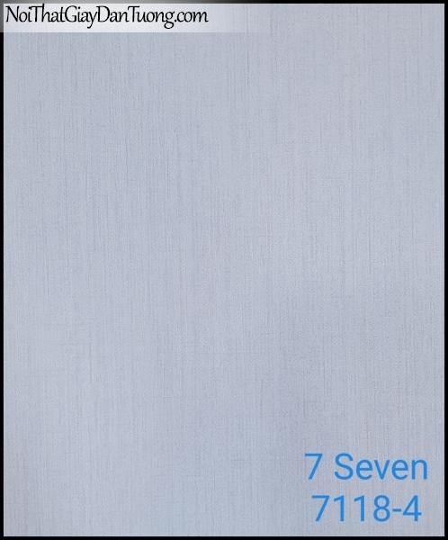 7 SEVEN, 7SEVEN, Giấy dán tường Hàn Quốc 7118-4, giấy dán tường 3D gân nhỏ, giả đá, giả gỗ, giả gạch, màu nâu xám