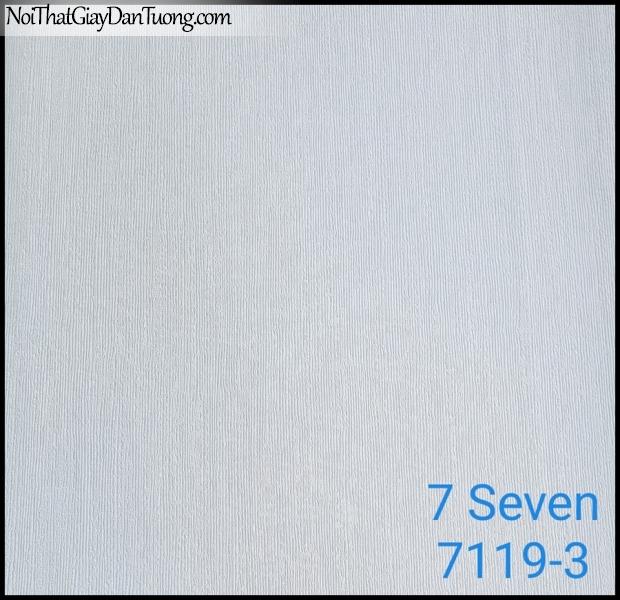 7 SEVEN, 7SEVEN, Giấy dán tường Hàn Quốc 7119-3, giấy dán tường 3D gân nhỏ, giả đá, giả gỗ, giả gạch, màu nâu xám