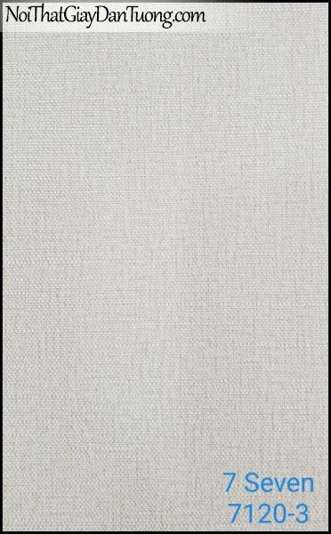 7 SEVEN, 7SEVEN, Giấy dán tường Hàn Quốc 7120-3 (2), giấy dán tường 3D gân nhỏ, giả đá, giả gỗ, giả gạch, màu nâu xám
