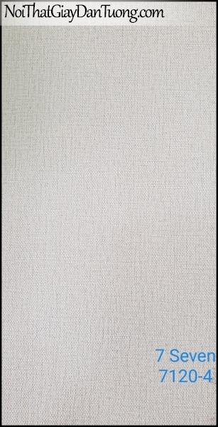 7 SEVEN, 7SEVEN, Giấy dán tường Hàn Quốc 7120-4, giấy dán tường 3D gân nhỏ, giả đá, giả gỗ, giả gạch, màu nâu xám